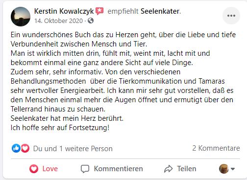 Kerstin Kowalzcyk | Seelenkater