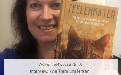 Wolkenfrei Podcast: Wie Tiere uns lehren mit dem Herzen navigieren