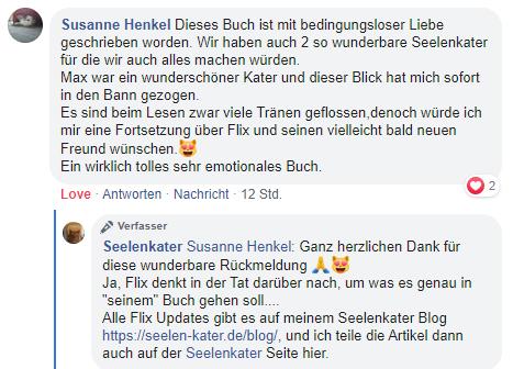 Susanne Henkel | Seelenkater | Tamara Schenk